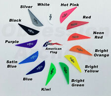 Bohning Blazer Vanes 24 or 36 Pack Arrow Fletching 14 Color Choices