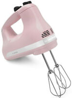 Kitchenaid 5-speed Ultra Power Hand Mixer Khm512pk Pink
