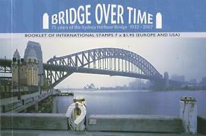 BRIDGE-OVER-TIME-PRESTIGE-STAMP-BOOKLET-AUSTRALIA-SYDNEY-HARBOUR-BRIDGE-MINT
