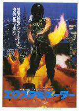 THE EXTERMINATOR MOVIE POSTER Original 1980 JAPANESE CHIRASHI SIZE Robert Ginty