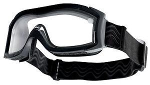 a8d007cdf38013 Masque balistique Bollé Tactical X1000 Noir double écran incolore ...