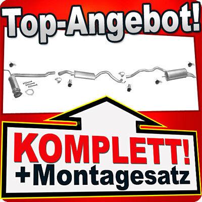 Mittelschalldämpfer Anbausatz VW Transporter T4 1.9TD,2.4D Mitteltopf Auspuff