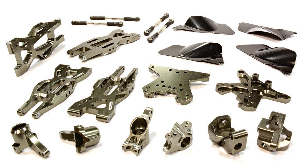 Integy rc t8695grau bearbeiteten suspension kit fr hpi 1   10 kugel mt - kugel.