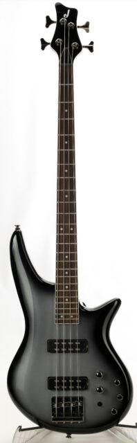 Jackson Spectra JS3 Bass Guitar Silverburst - Low Action, Missing Bridge Screws