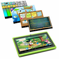 """7"""" Google Android 4.4 Tablet PC MID for Kids Children 1GHz Dual Camera Green"""