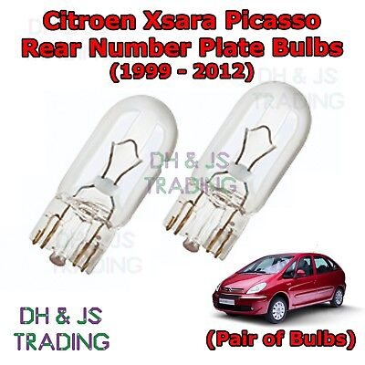 2x Land Rover Discovery MK4 Genuine Osram Original Number Plate Lamp Light Bulbs