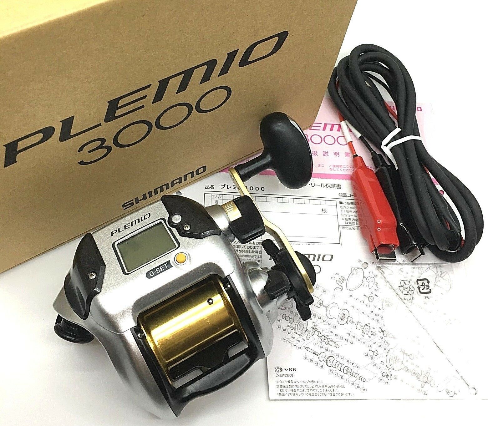 Shimano 15 PREMIO 3000 Electric Reel Right Handed For Big Game NEW  From JAPAN