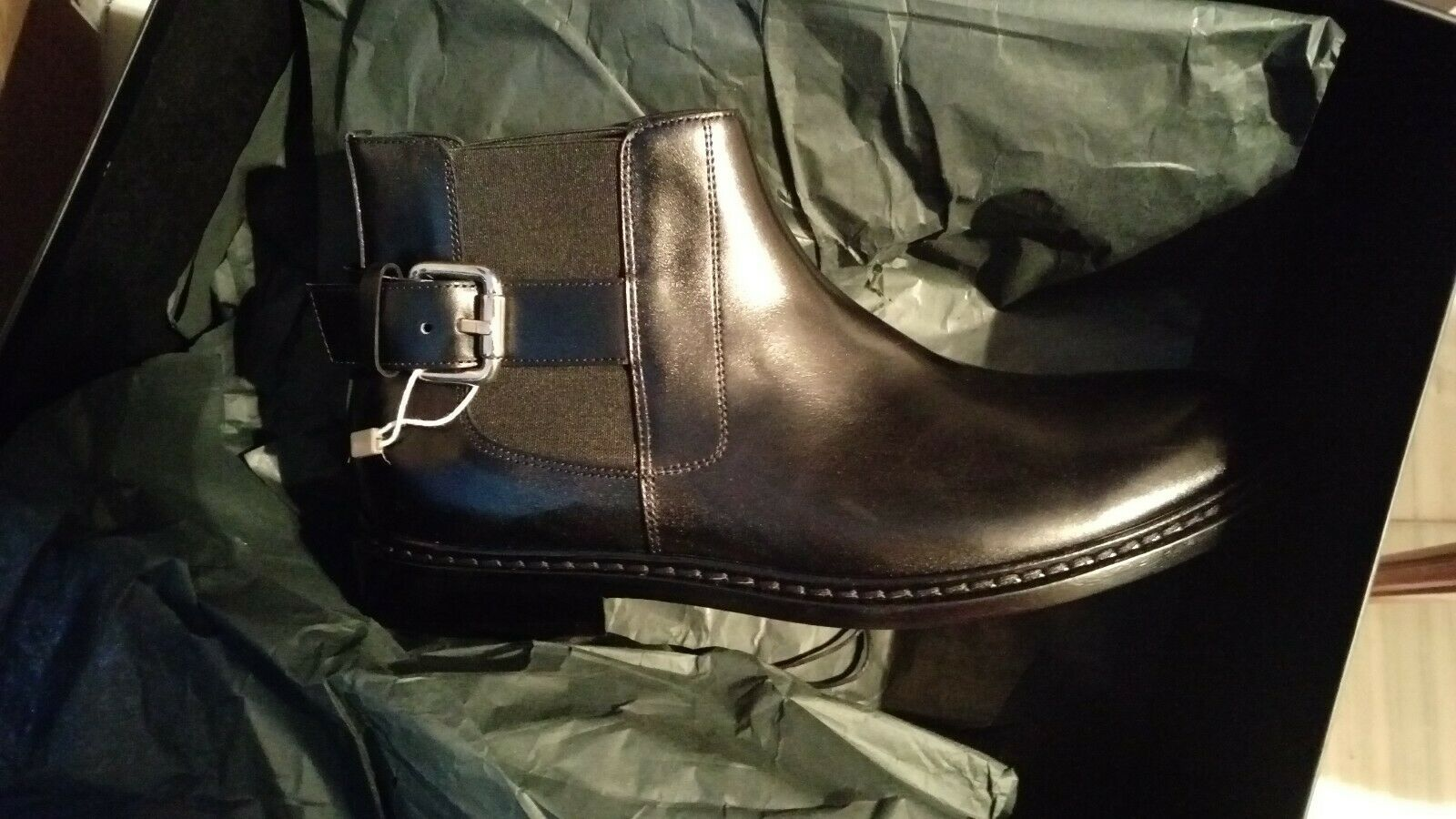 NWT Just Cavalli leather ankle boots Made in Italy