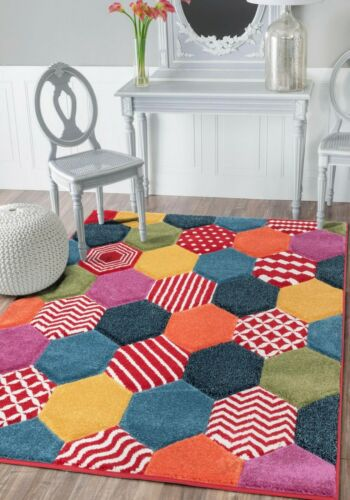 New Large Small Bright Funky Rainbow Rugs Long Hall Runners Cheap Big Mat Rug