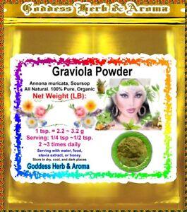 1-LB-Graviola-Leaf-Powder-Soursop-Annona-muricata-Brazilian-paw-paw-guanaba
