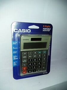 Casio MS80B MS-80B Tax and Currency Calculator 8-Digit LCD