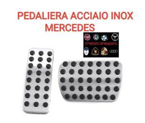 MERCEDES-BENZ A-Classe w176 Sport pedali in acciaio inox AMG