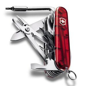Swiss Army Knife Victorinox Cybertool L Ct 41 Ruby