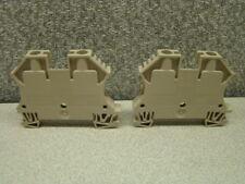 102020 WDU6 DIN Rail Mount Terminal Block WEIDMULLER 22-8 AWG 41Amp 800V