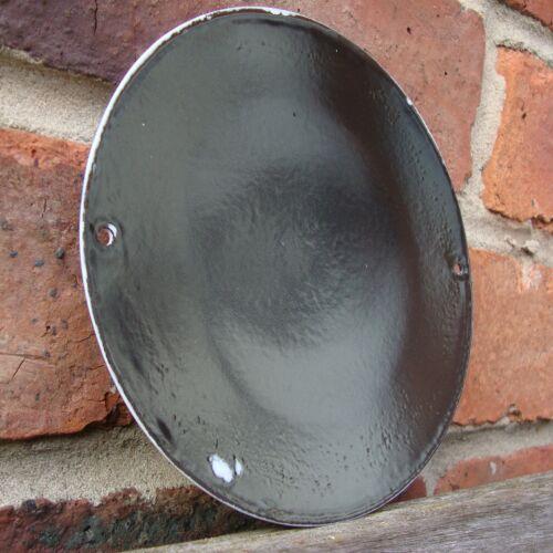 CITROEN ENAMEL SIGN round logo garage petrol oil vitreous porcelain VAC168