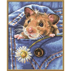 Details Zu Malen Nach Zahlen Schipper Für Kinder Mucki Der Hamster Malvorlage Tier Vorlage