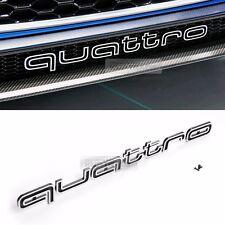 RS Style Quattro world Logo Grille Emblem for Audi A1 A3 A4 A5 A6 A7 A8 Q3 Q5 TT