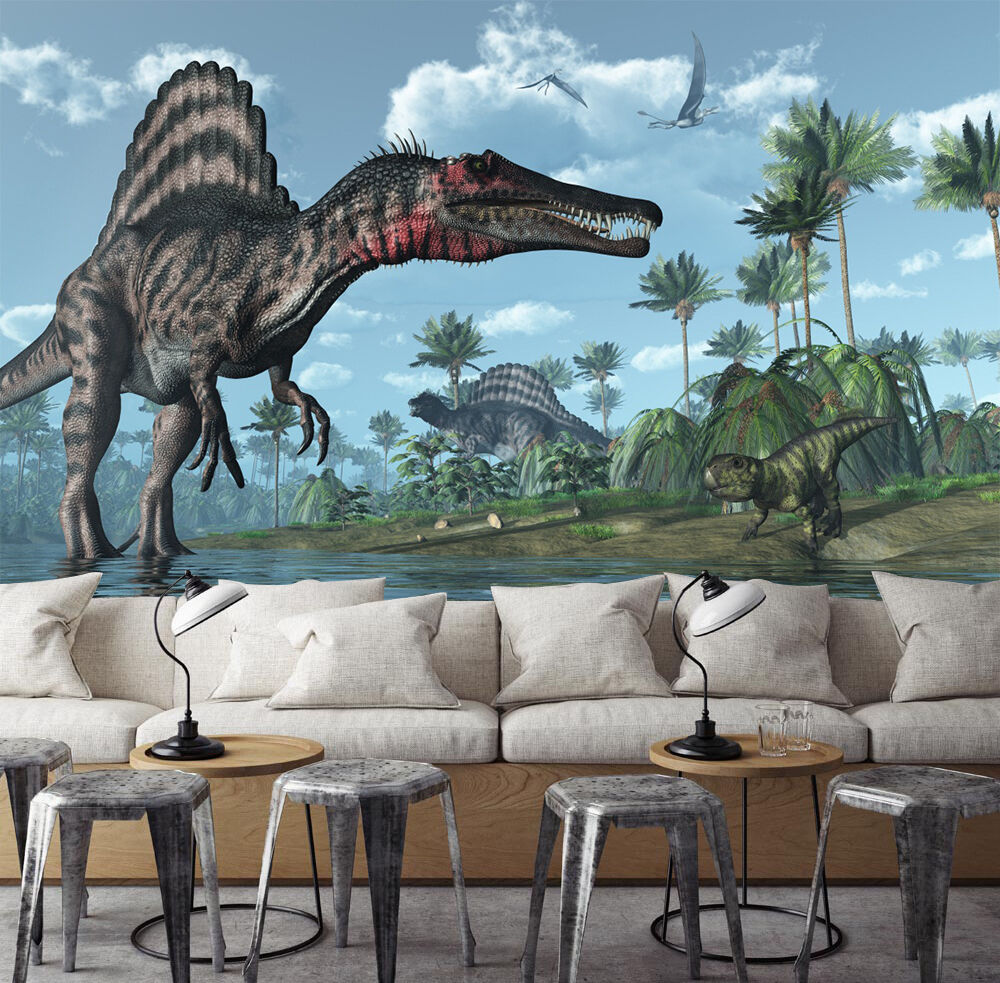3D Various Dinosaurs 8955 Paper Wall Print Wall Decal Wall Deco Indoor Murals