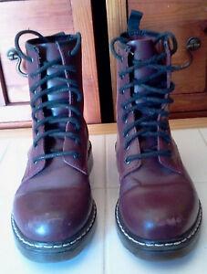 Boots-en-cuir-pour-Femme-pointure-35-CABLE