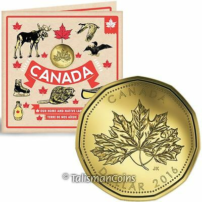 Special Edition Loonie 2015 Oh Canada Gift Uncirculated Set