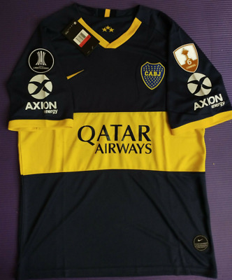 2018-2019 Boca Juniors Copa Libertadores second Away Soccer Jersey T shirt