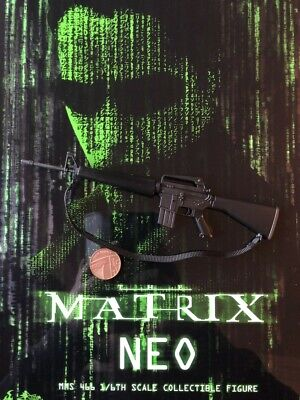 SP1 Assault Rifle loose 1//6th scale Hot Toys Neo The Matrix MMS466 M16