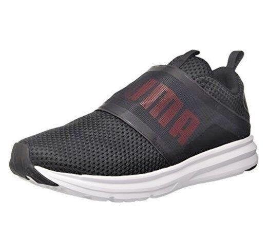 Zapatos Puma Enzo Strap Mesh 190481-01 hombres negro zapatillas Sportiva negro 46 Nuovo