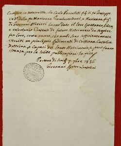 C2784-MARCHE-PARROCCHIA-DI-S-MARIA-DEL-PORTONE-DI-SENIGALLIA-USO-MATRIMONIO-1836
