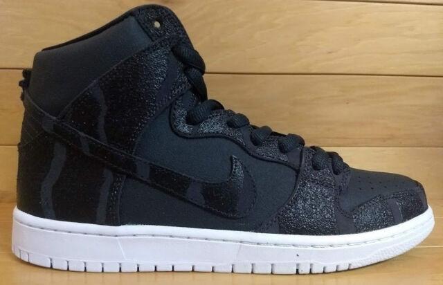 00e2f01adf7 Nike Dunk High Pro SB Size 9.5 GRIPTAPE Anthracite Black White 305050-028