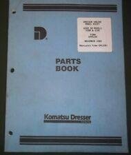 Item 6 Komatsu Dresser D359t Engine For 520b 520c Loader Parts Catalog Book Manual