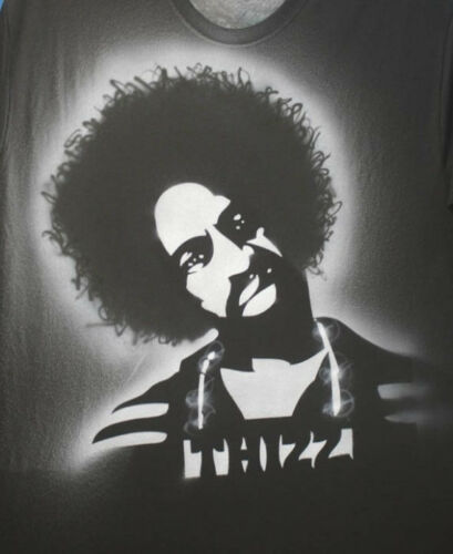 Mac Dre Shirt Hand Airbrushed with Stencils