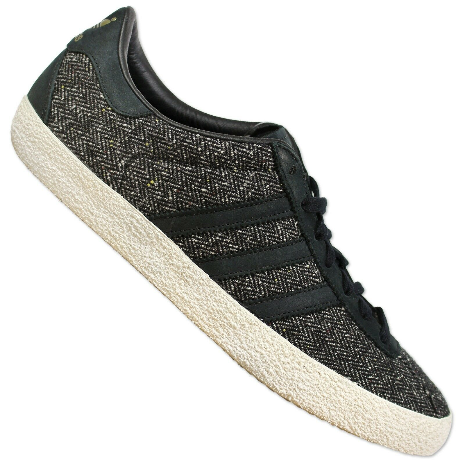 Adidas Originals Gazelle gamuza 70s zapatillas b24981 Zapatos  de gamuza Gazelle tweed negro 124e18