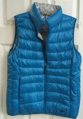 Down Ny Edition Reversible Sprz Vest High Blue Special Solid M Heels Moma IqCwn74