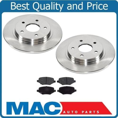Fits For 14-16 Town /& Country Rear Brake 305MM Rotors /& Ceramic Pads