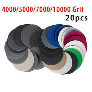 Papier-Polissage-Grincement-Sablage-Disque-Fournitures-4000-10000-Gravier-Solide