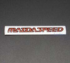 1Pcs Aluminum Car Modified Emblem Badge Sticker Logo Fits for Mazdaspeed MS 3 5