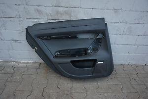 Audi-A6-4F-C6-Posteriore-Sinistro-Porta-Pannello-Carenatura-Nero-Bose