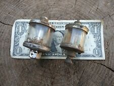 Lot Of 2 Hit And Miss Engine Oilers Brass Nathan No 483