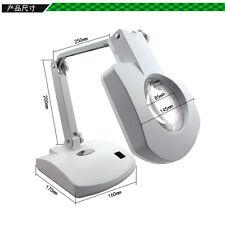 BEST-8611BL LED Magnifying Glass Lamp Repair Tool 56 LED lamp Table Lamp