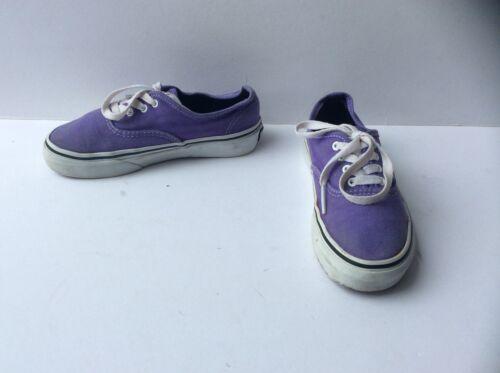 Reino Junior con Vans 5 tama Purple de cordones 13 Zapatillas o Unido deporte qE1zwCI