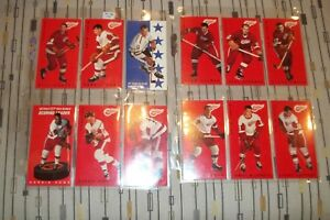 LOT-OF-21-DIFFERENT-1994-95-PARKHURST-TALL-BOYS-DETROIT-RED-WINGS-W-3-HOWE