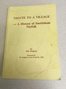 SALUTE-TO-A-VILLAGE-HISTORY-OF-SNETTISHAM-NORFOLK-ENCLOSURES-ILLUS-SCARCE-1989