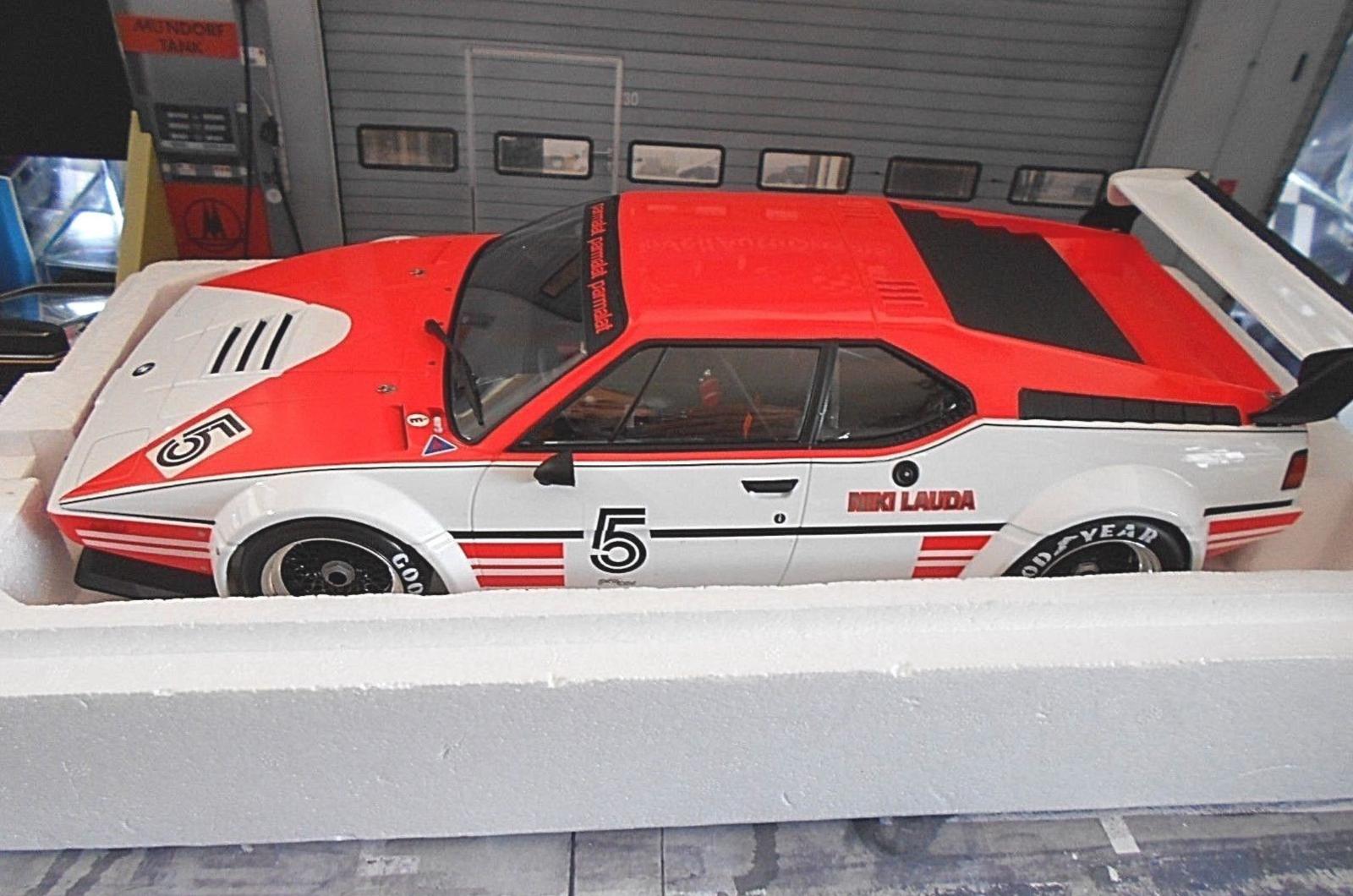 1 12 Minichamps BMW M1 Racing Procar Niki Lauda  5 1979 w  Marlboro Decals