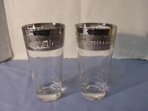 2 Vintage Temporama Pattern Glasses Mod Bar Mod Kitchen