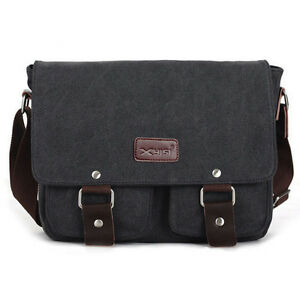 Casual-Outdoor-Man-Business-Messenger-Canvas-Travel-Hiking-Sports-Shoulder-Bags
