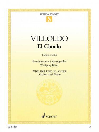 El Choclo Violin and Piano String Solo Book NEW Schott 049046008