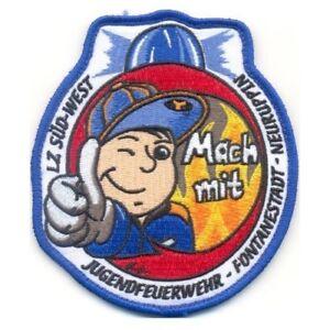Patch Jugendfeuerwehr Stadt Neuruppin Limitierte Stückzahl Feuerwehr