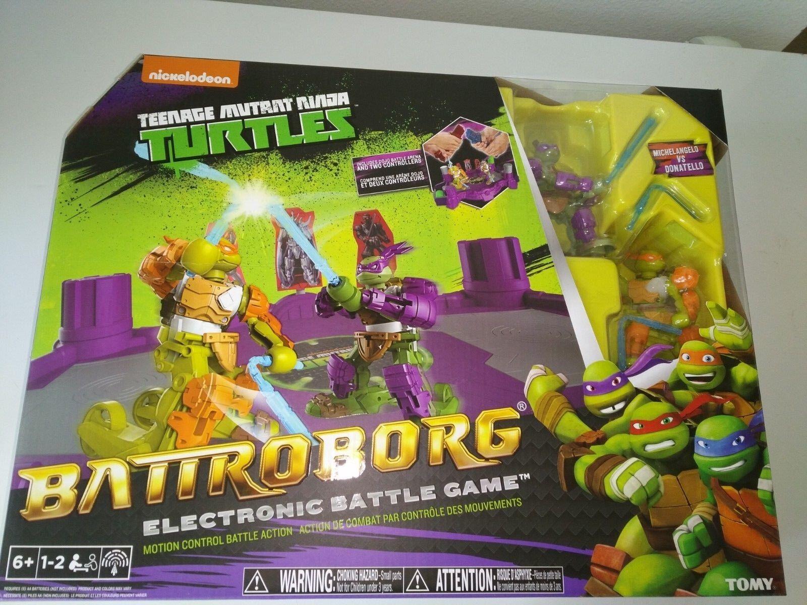 Nib battroborg teenage mutant ninja turtles - donatello und michelangelo