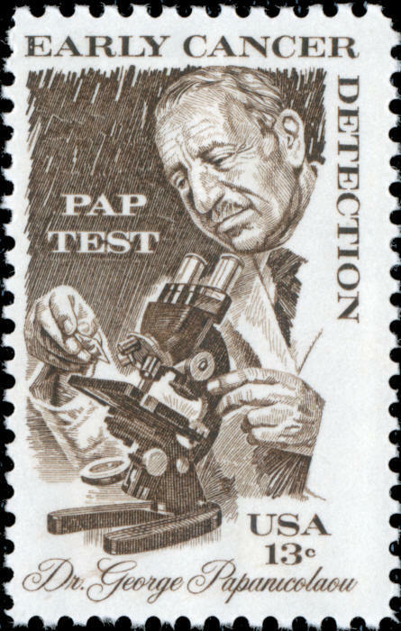1978 13c Early Cancer Detection, Pap Test, Papanicolaou