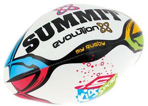 Summit Evolution Kids in Sport Rugby Soft Ball